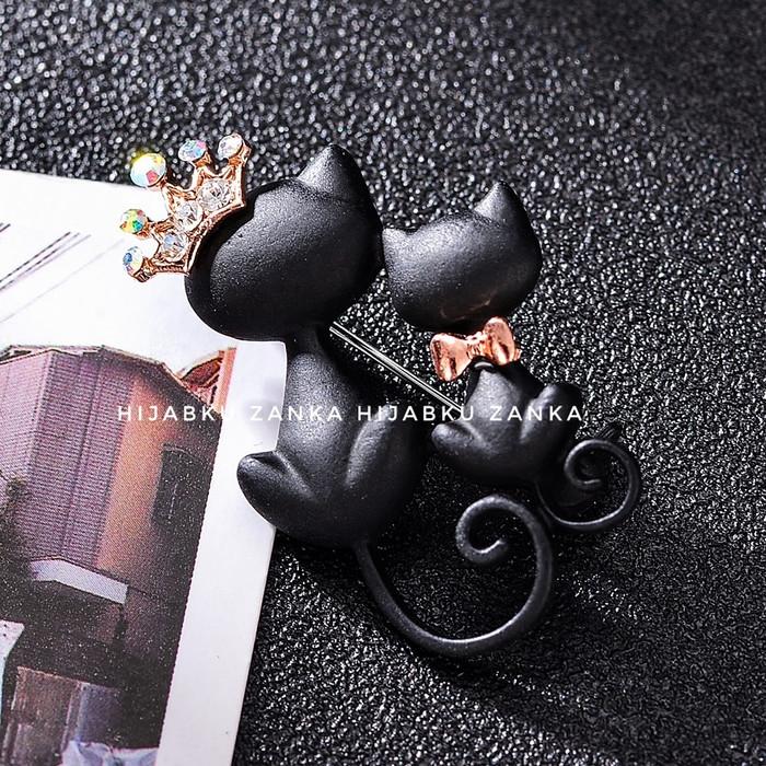 Foto Produk bros black cat - Hitam dari Hijabku Zanka