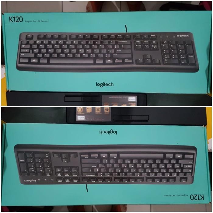 33d02748f28 Jual Keyboard logitech K120 original - Micromax | Tokopedia