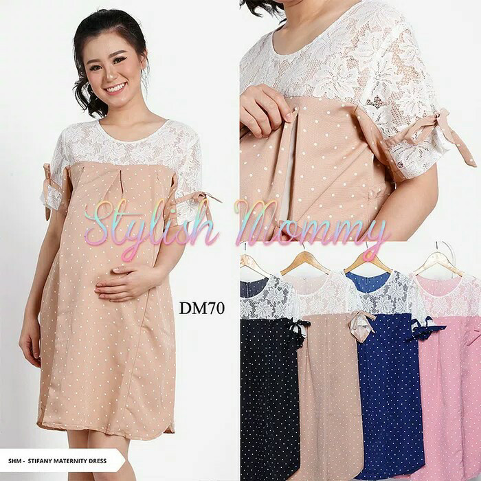 Jual Baju Pesta Hamil Gaun Pesta Baju Ibu Hamil Dress Menyusui Baju