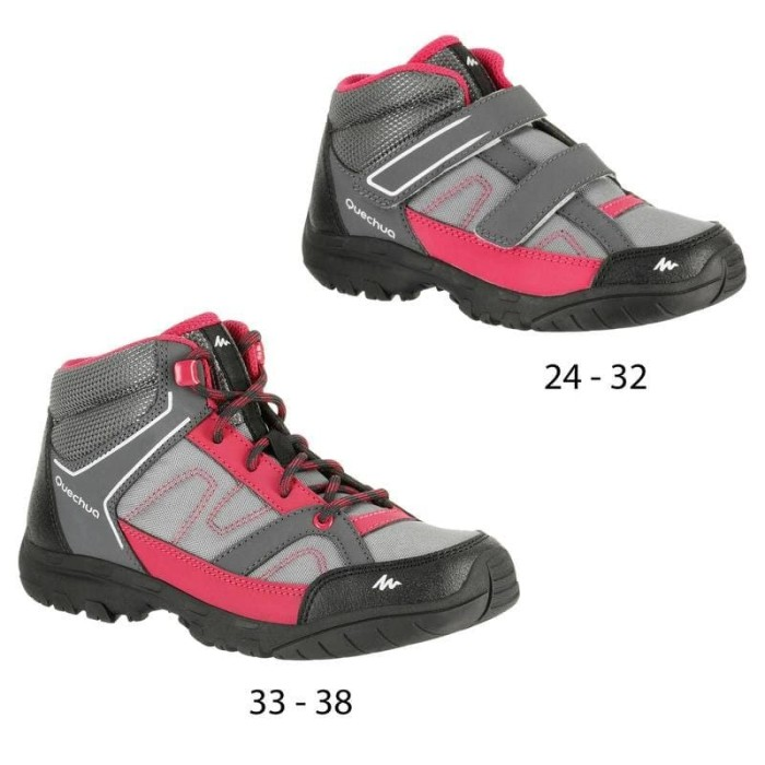 harga Sepatu hiking boots anak children's hiking boots quechua arpenaz Tokopedia.com
