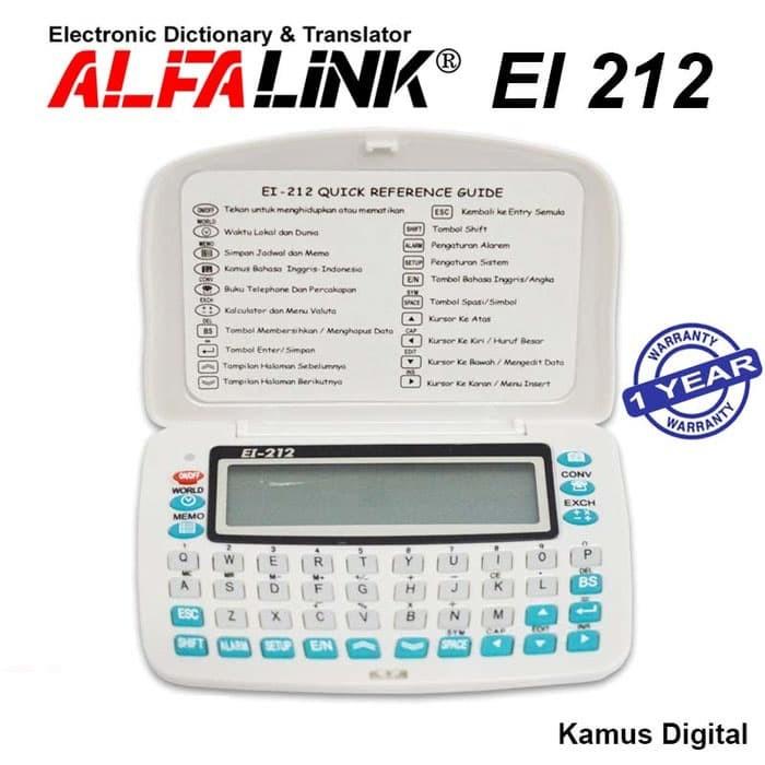 ... Alfalink Kamus Elektronik EI 212