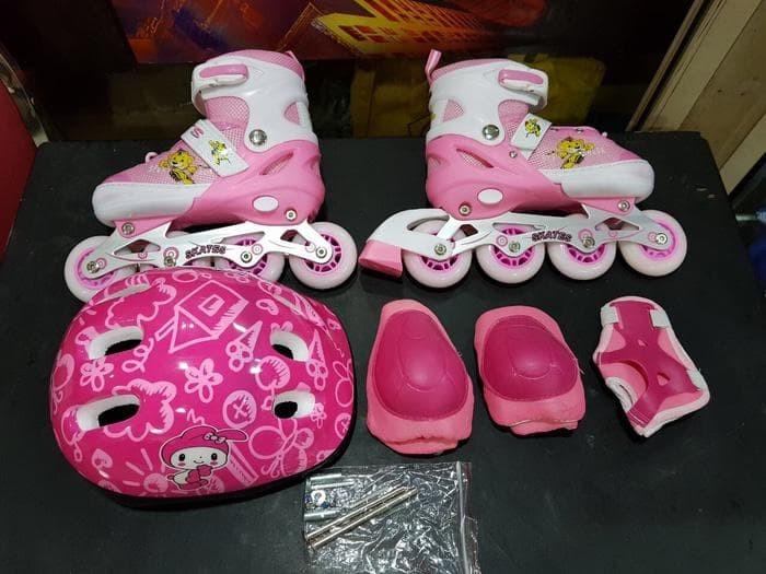 Jual Termurah Berkualitas Sepatu Roda Anak Fullset (Body Protecktor ... 86ed3149e5