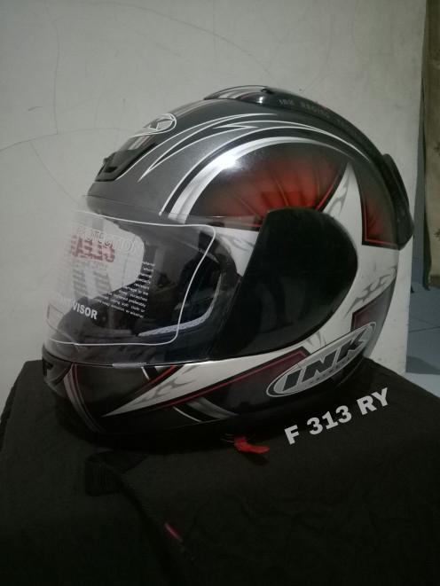 Helm Fullface INK CL26 Polaris Racing Star 1