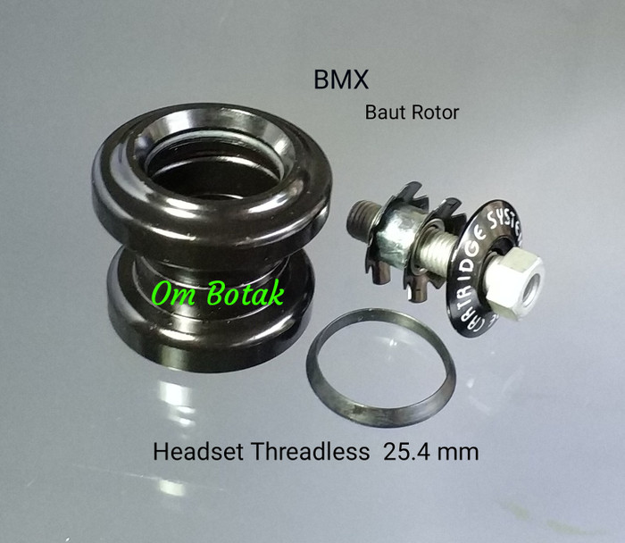 harga Headset cartridge baut rotor bmx. fork 25.4 Tokopedia.com