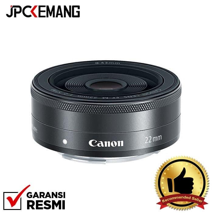 harga Canon ef-m 22mm f/2.0 stm Tokopedia.com