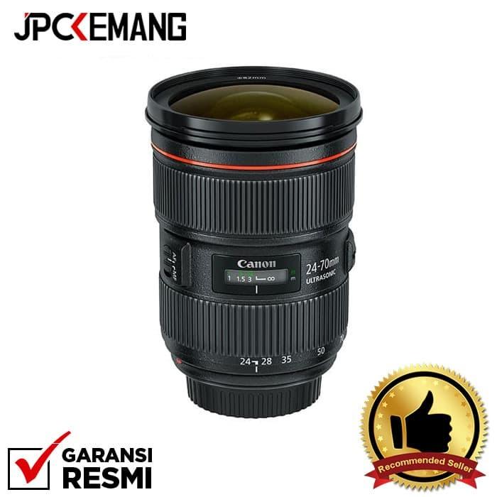 Foto Produk Canon EF 24-70mm f/2.8L II USM GARANSI RESMI dari JPCKemang