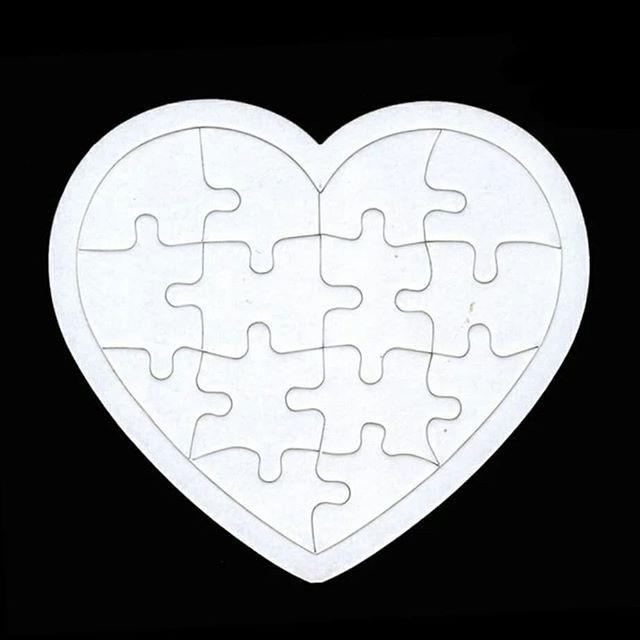 harga Diy blank puzzle mainan edukasi anak diy puzzle bahan craft kerajinan Tokopedia.com