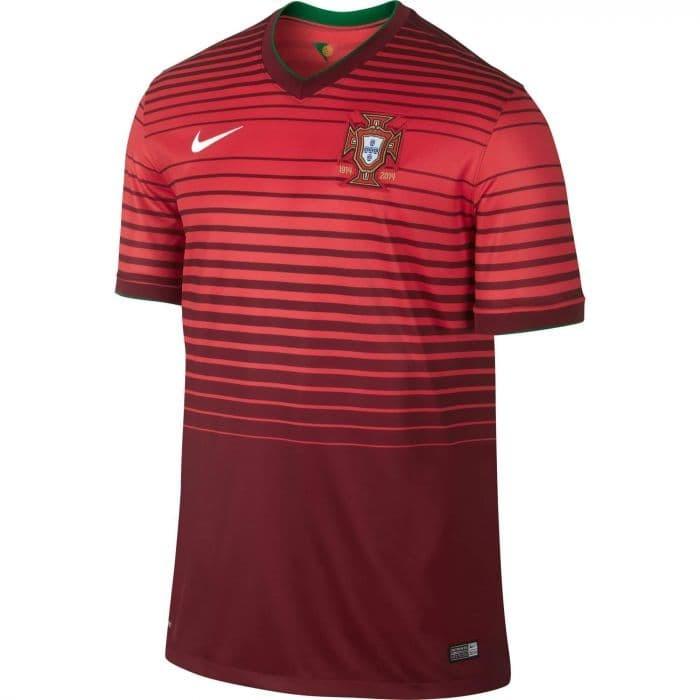 Foto Produk JERSEY BOLA GRADE ORI WORLD CUP 2014 PORTUGAL HOME FOR MAN dari koleksi baju couple
