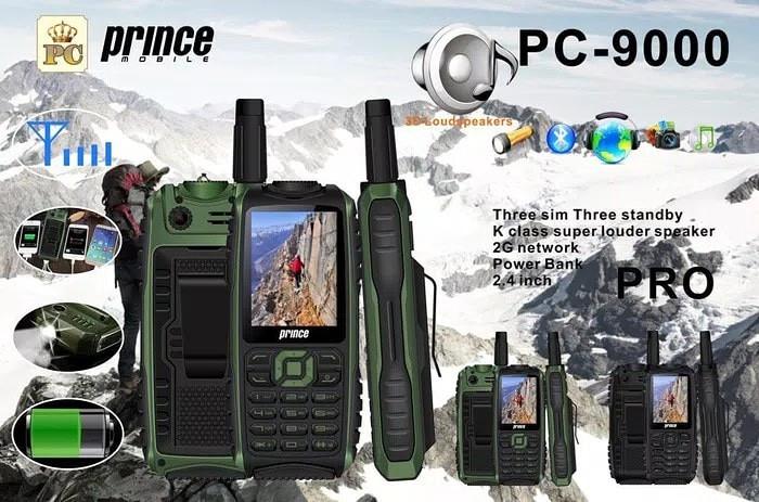 harga Prince pc 9000 original hp powerbank pc 9000 / powerbank 10.000 mah Tokopedia.com