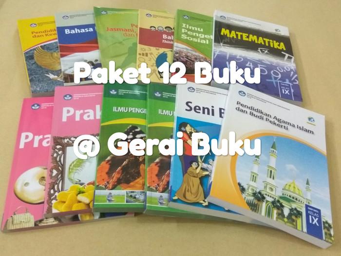 Foto Produk Paket 11 Buku Kelas 9 SMP Revisi 2018 + Agama Islam dari Gerai Buku Sekolah