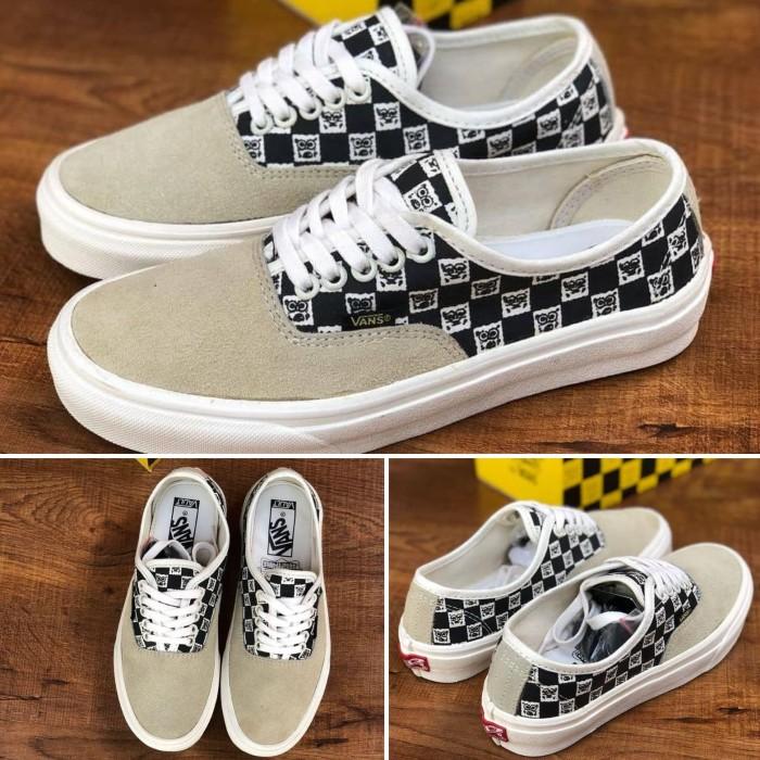 Jual Sepatu Vans Authentic OG LX Spongebob Ofwhit Premium BNIB Mad ... 58202eb7ab