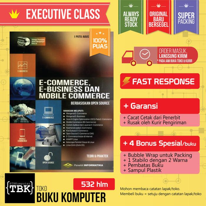 Jual Buku E Commerce E Business Dan Mobile Commerce Edisi Revisi