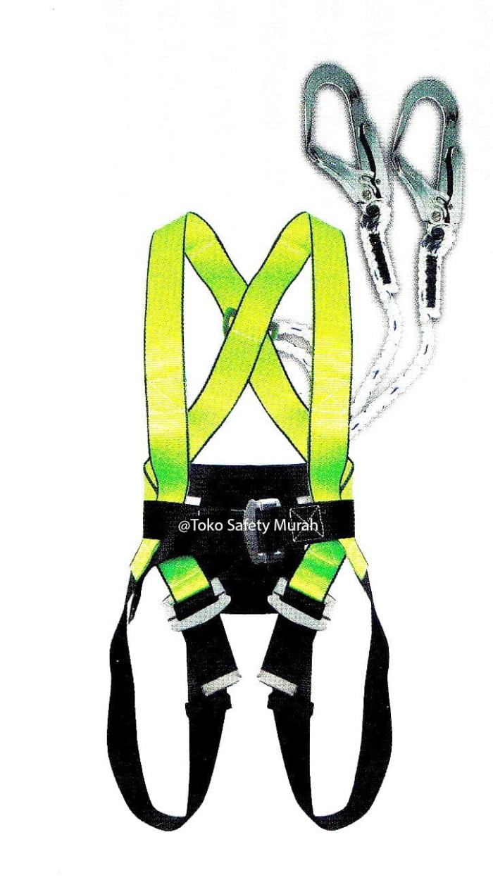 harga Safety belt sabuk pengaman full body harness double big hook gosave Tokopedia.com