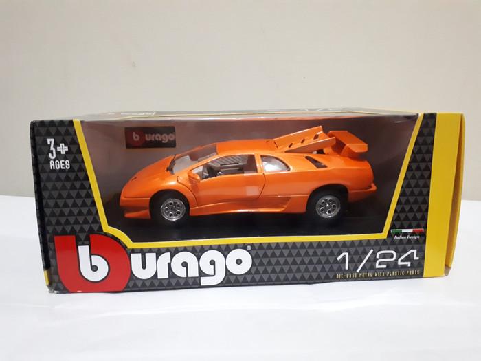 Jual Bburago Burago Die Cast Lamborghini Diablo Orange 1 24