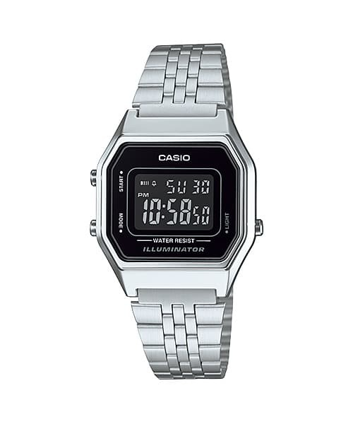 casio jam tangan wanita la680wa-1bdf