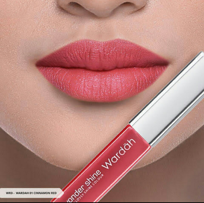 Wardah Wonder Shine Lipgloss No 1-5
