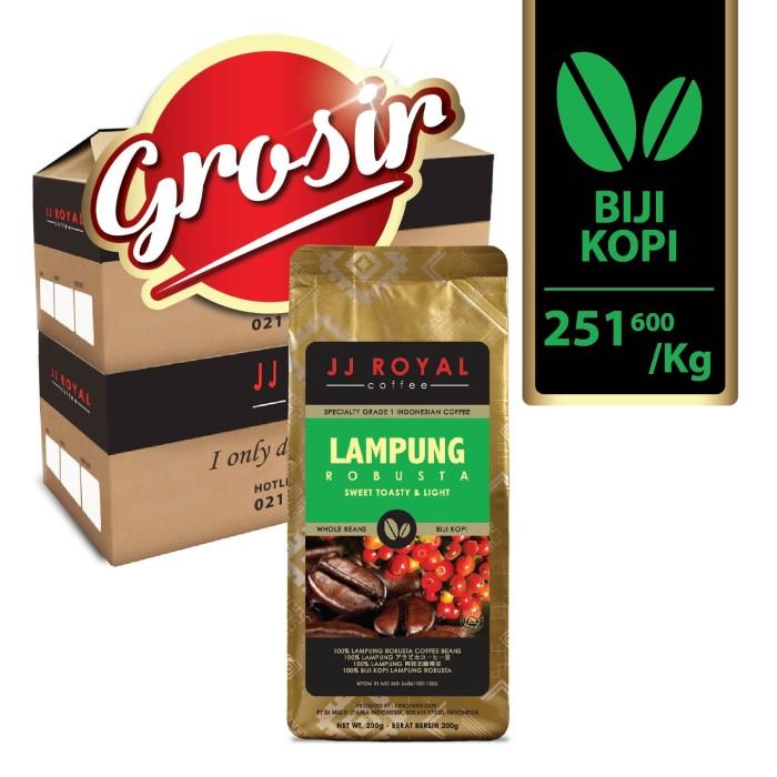 harga Horeca jj royal coffee lampung robusta beans (kopi biji) Tokopedia.com