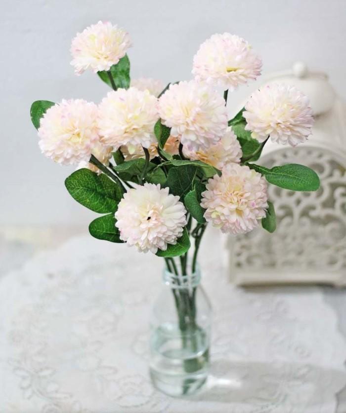 1 SET ISI 2 bunga plastik hias artificial pompom carnation anyelir 5 df0245e2b0
