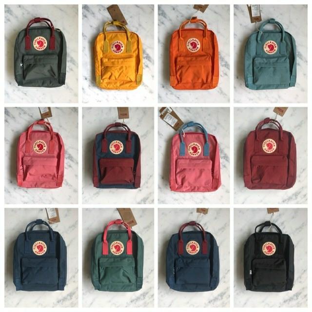 Kanken mini backpack part 3 tas sekolah kuliah jalan bag ransel shop