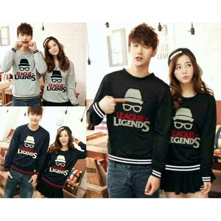 harga Sweater couple xl legends league rajut babyterry Tokopedia.com