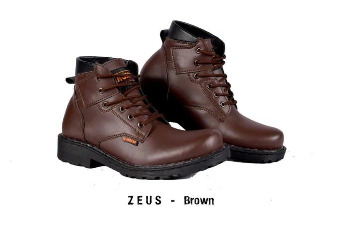 Jual SEPATU PRIA CASUAL BOOTS HUMMER ZEUS BROWN ORIGINAL Paling ... b62887a30b