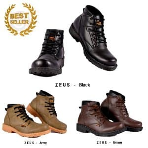Jual SEPATU PRIA CASUAL BOOTS HUMMER ZEUS BROWN ORIGINAL BES Paling ... 978873f7ea