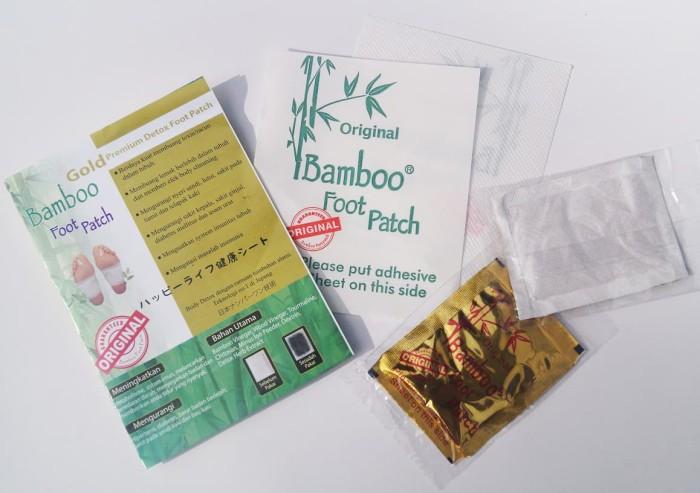 Koyo Kaki Bamboo Foot Patch Gold Premium Detox