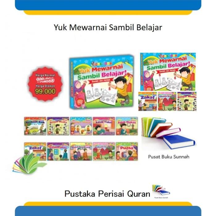 Jual Buku Paud Tk Islam Belajar Mewarnai Sambil Bermain Best