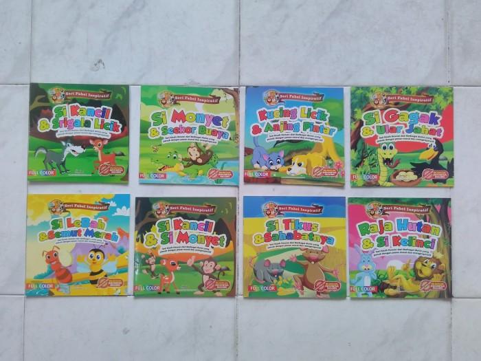 Jual Buku Cerita Fabel Binatang Hewan Bilingual Heppyshop Heppy