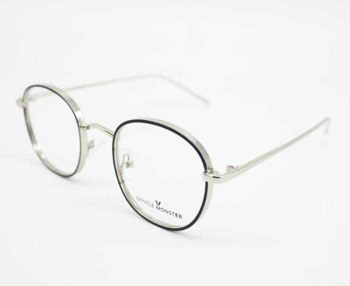 ... Frame Kacamata Minus Fashion Pauline Bulat Besi Kokoh Pria Wanita -  Blanja.com ... e506f95ec8