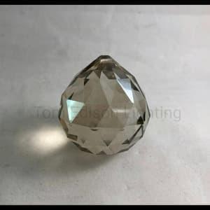 harga W02b. bola kristal 40mm 4cm baso grey metalic aksesoris lampu bakso Tokopedia.com