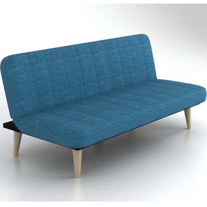 harga Jysk sofabed hampton 180x84x79 cm/ sofa lipat - blue Tokopedia.com