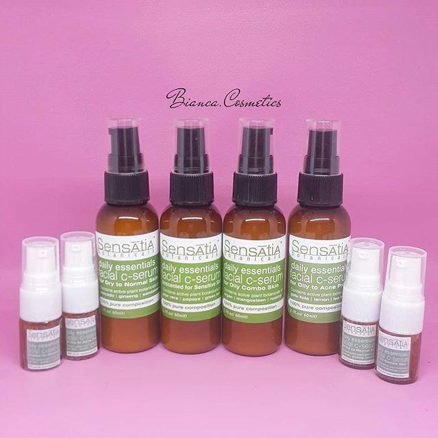Jual Sensatia Botanicals Facial C Serum Oily To Acne Prone Skin