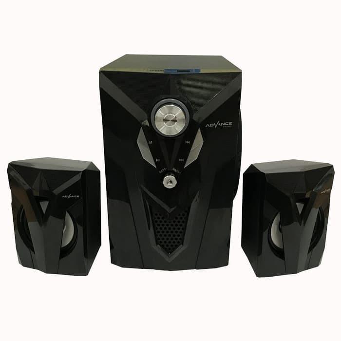 Speaker Aktif Speker Portable Advance M10 FM Radio USB SD Card