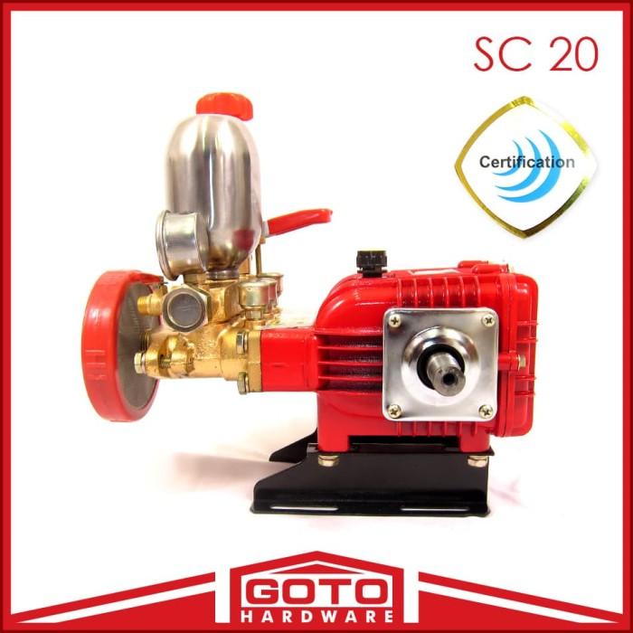harga Xenon mesin power sprayer sc 20 cuci ac mobil portable steam sanchin Tokopedia.com