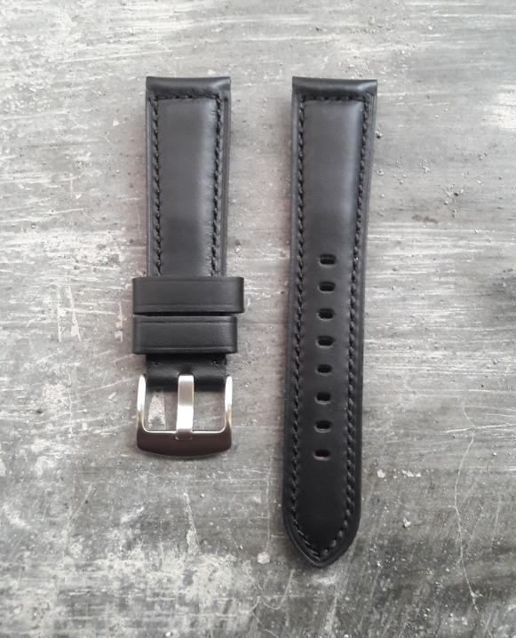 harga Tali jam tangan kulit asli tl1004 black Tokopedia.com