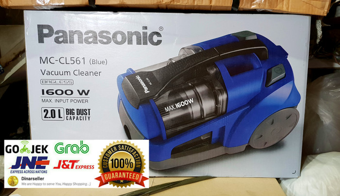 harga Panasonic mc cl561 blue penyedot debu /bagless vacuum cleaner mccl561 Tokopedia.com