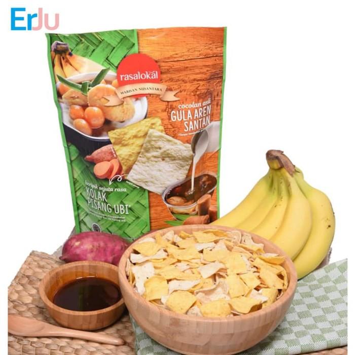 harga Rasalokal kolak pisang ubi dengan cocolan asli gula aren santan Tokopedia.com