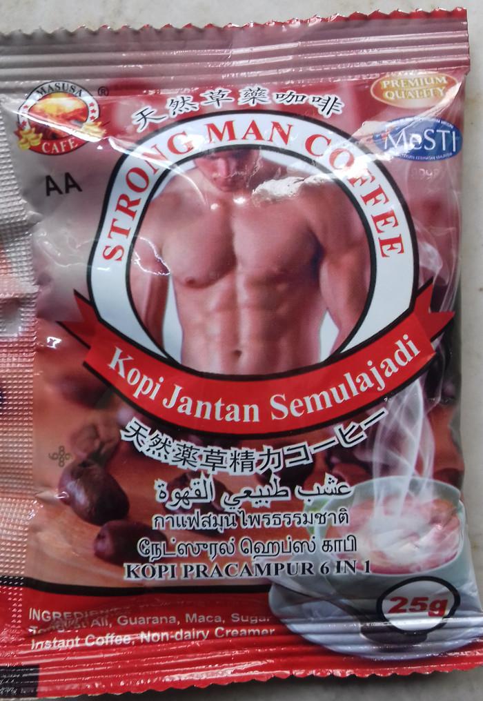 Jual Strong Man Coffee Kota Tarakan Dunia Usaha Tokopedia