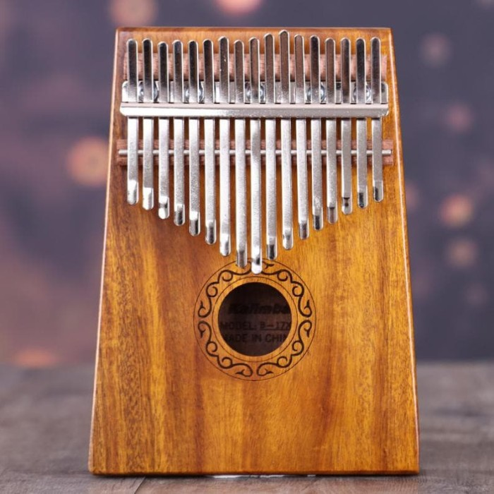 harga Kalimba 17 keys kayu mahogany mbira africa thumb piano Tokopedia.com