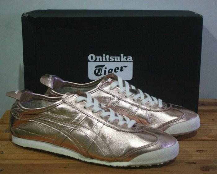 sneakers for cheap e44d5 0fe19 Jual Asics Onitsuka Tiger Mexico 66 Rose Gold Women Premium Original -  Jakarta Selatan - ridoshop9 | Tokopedia