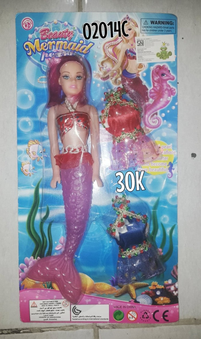 List Harga Baju Duyung Barbie Terbaru September 2018 Katalog Berbie