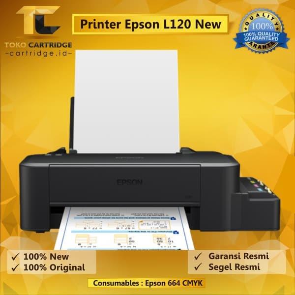 harga Printer epson l120  l 120 new original printer infus epson ink tank Tokopedia.com