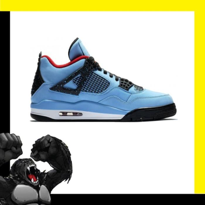 Jual Nike Air Jordan 4 Retro Travis Scott Cactus Jack Jakarta