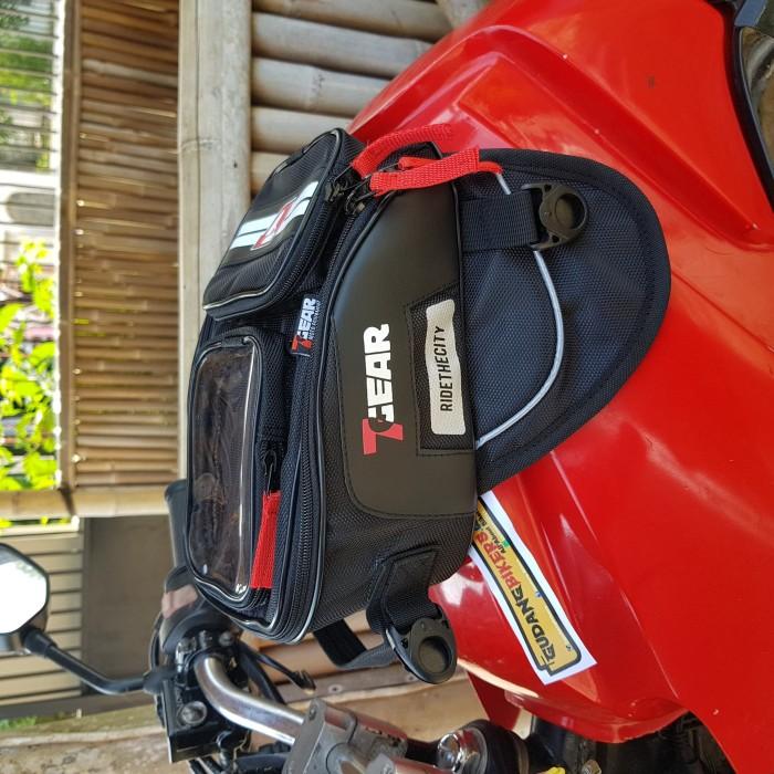 Tankbag 7gear mini tas tangki magnet hipbag slingbag motor bikers