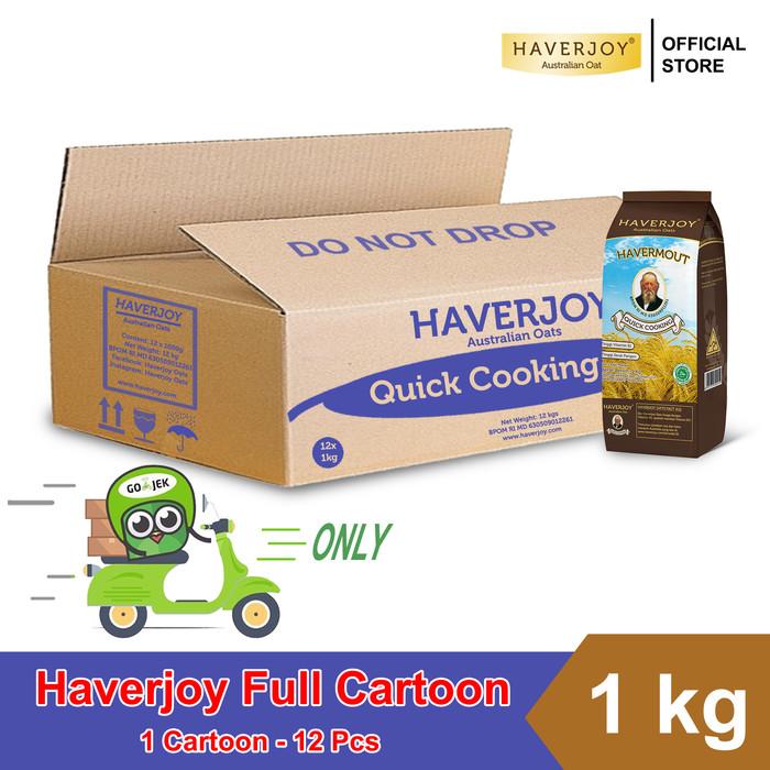 harga Haverjoy full cartoon quick cooking oats 1 lkg Tokopedia.com
