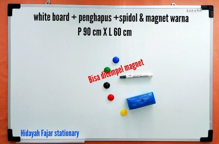 white board penghapus white board spidol papan tulis