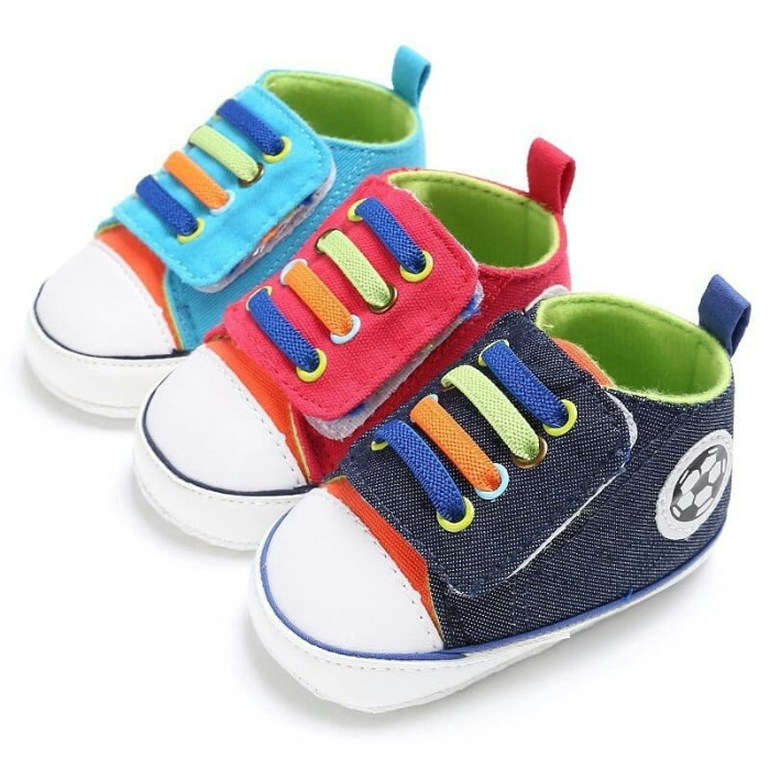 Sale! Prewalker Baby Shoes Import - Sepatu Bola Bayi Saneoo Diego - Blanja.com