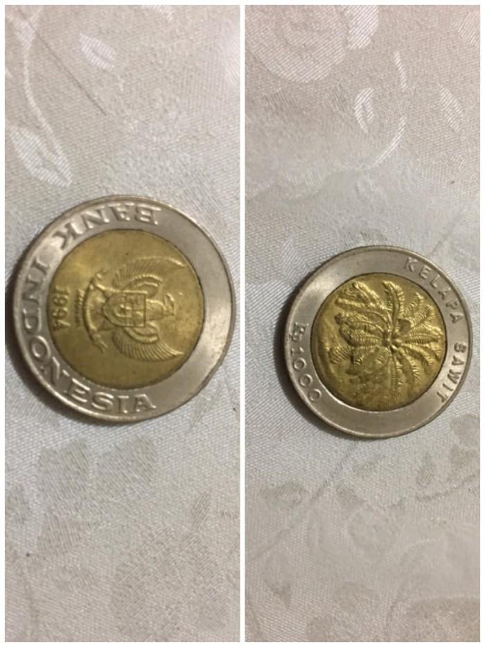 harga Uang koin 1000 / seribu lama kelapa sawit tahun 1994 (SANGAT LANGKA) Tokopedia.com
