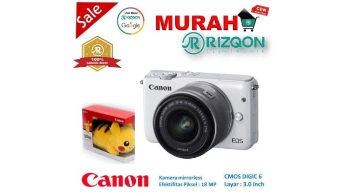 Katalog Kamera Mirrorless Canon Eos M10 Travelbon.com